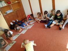 Naše první společná četba knihy -  O MYŠCE