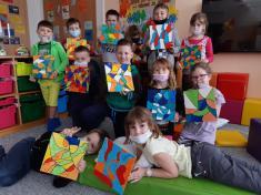 Všechny děti byly přimalování těchto obrázků neskutečně šikovné apečlivé.