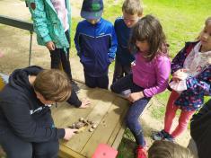 Lojza naškolní zahradě
