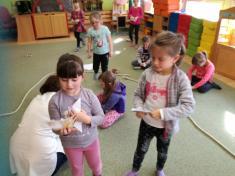 Návštěva ve školce v Křemži