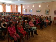Výchovný koncert LŠU v Českém Krumlově