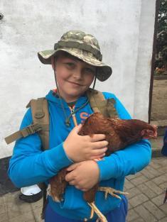 Školní výlet - Za zvířátky do Stupné